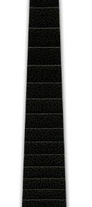 D'Addario Fingerboard Appliqué Black, 1/2 Size Violin, 286mm scale